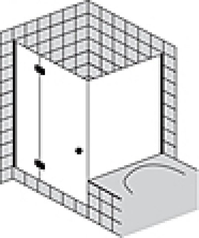sprinz fortuna teilgerahmt eckdusche fa12r90200. Black Bedroom Furniture Sets. Home Design Ideas