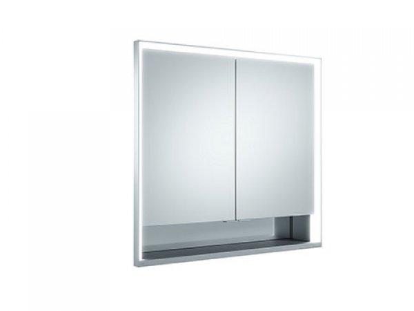 keuco royal lumos spiegelschrank 14312 2 dreht ren 800mm. Black Bedroom Furniture Sets. Home Design Ideas
