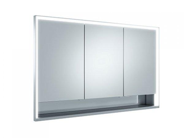 Keuco royal lumos spiegelschrank 14315 3 dreht ren 1200mm for Keuco spiegelschrank