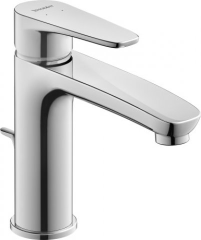 Duravit B.1 Single lever washbasin mixer M, with waste, 139mm projection