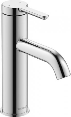 Duravit C.1 Single lever washbasin mixer M, without pop-up waste, projection 113mm