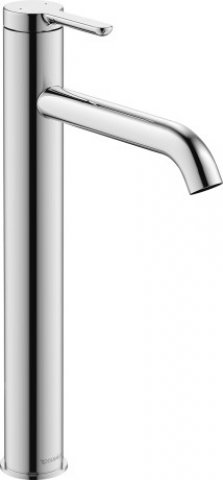 Duravit C.1 Single lever washbasin mixer XL, without pop-up waste, projection 166mm