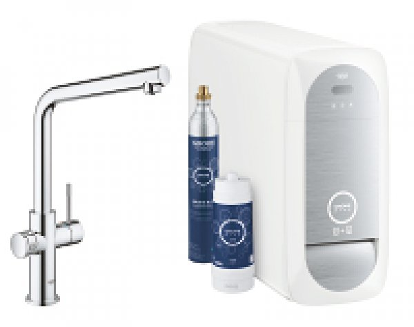 grohe blue home l auslauf starter kit 31454 mit k hler. Black Bedroom Furniture Sets. Home Design Ideas