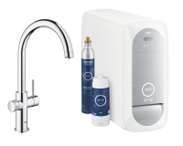 grohe blue home c auslauf starter kit 31455 mit k hler. Black Bedroom Furniture Sets. Home Design Ideas