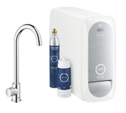 grohe blue home mono starter kit 31498 mit k hler. Black Bedroom Furniture Sets. Home Design Ideas