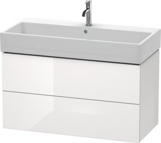 duravit l cube waschtischunterbau wandh ngend 2 schubk sten. Black Bedroom Furniture Sets. Home Design Ideas
