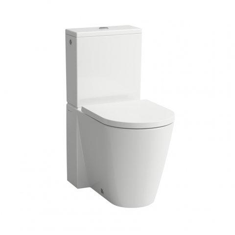 Top Laufen Kartell Stand-WC 'rimless' für Spülkasten, Tiefspüler AT28