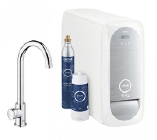 grohe blue home mono starter kit 31498 mit k hler. Black Bedroom Furniture Sets. Home Design Ideas