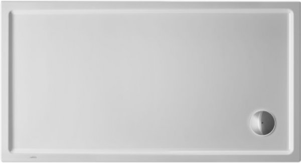 Duravit Starck Slimline rectangular shower tray, 140x80 cm, white