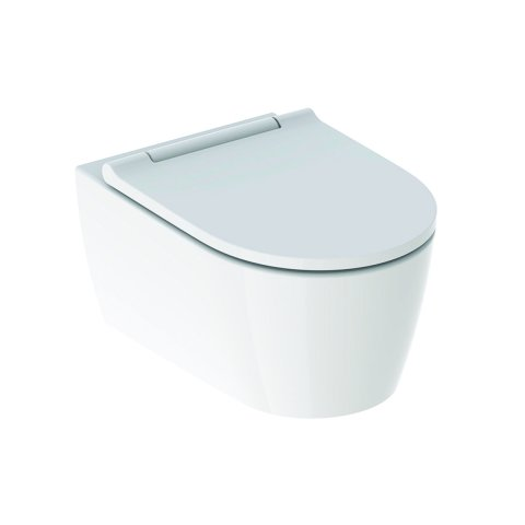 Geberit One wall-mounted WC Wash-down unit wall-hung, TurboFlush, with WC seat w...