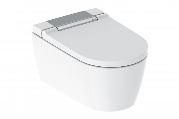 Geberit AquaClean Sela NEW Complete WC system wall-mounted WC, 146220