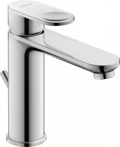 Duravit B.3 Single lever washbasin mixer M, B31020, with pop-up waste, projection 141 mm