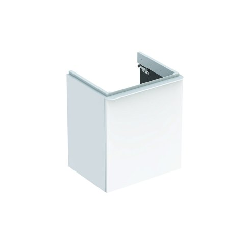 Geberit Smyle Square Vanity unit, 500366, 536x617x433mm, with 1 door, left opening