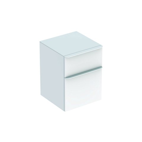 Geberit Smyle Square side cabinet, 500357, 45x60x47cm, with 2 drawers