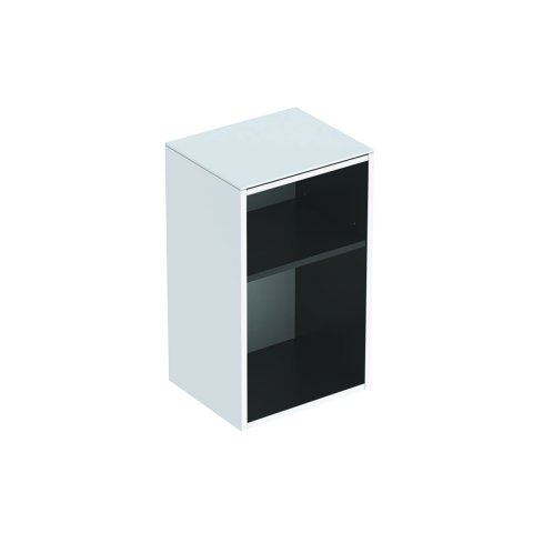 Geberit Smyle Square side cabinet, 500358, 36x60x29.9cm, open