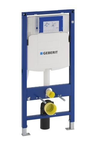 Geberit Duofix wall-mounted WC, 112cm, with flush-mounted cistern UP320