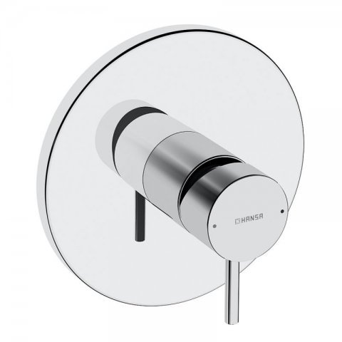 Hansa Hansastela Functional unit for one-hand shower mixer without conversion round, chrome