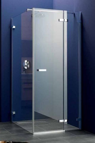 Koralle swing door with fixed panel for short partition S700 TPFKA R140 1385-1405x1950mm