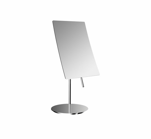 frasco floor mirror 3-fold, square, 140x215mm, chrome 833971100