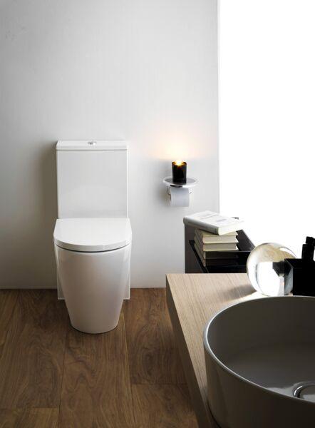 Fabulous Laufen Kartell Stand-WC 'rimless' für Spülkasten, Tiefspüler LP91