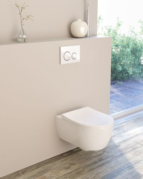 Keramag iCon washdown WC. 6l, without rim