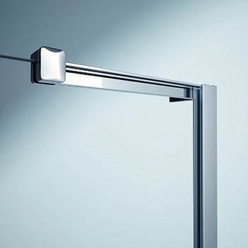 HÜPPE Xtensa pure side panel for Walk-In sliding door 1-part with fixed segment width:70cm Stop left & right