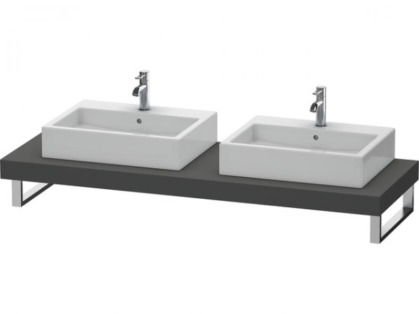 duravit fogo konsole variabel 079c 1400mm mit zwei. Black Bedroom Furniture Sets. Home Design Ideas