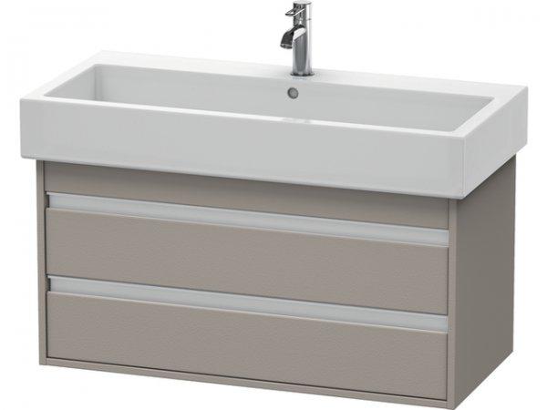 duravit ketho waschtischunterschrank wandh ngend 6638 950mm f r vero. Black Bedroom Furniture Sets. Home Design Ideas
