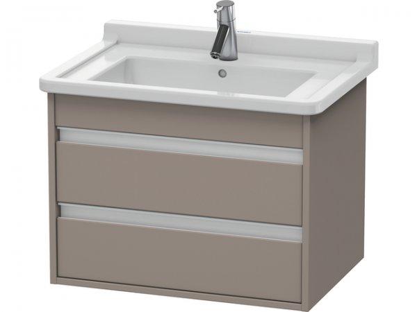 duravit ketho waschtischunterschrank wandh ngend 6643 650mm f r starck 3. Black Bedroom Furniture Sets. Home Design Ideas
