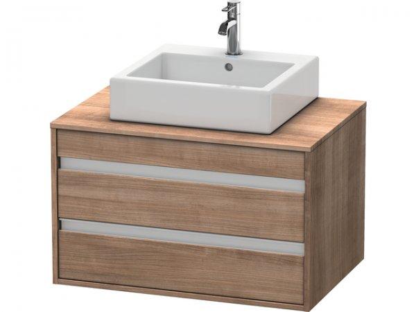 duravit ketho waschtischunterschrank wandh ngend 6654 f r aufsatzbecken mittig. Black Bedroom Furniture Sets. Home Design Ideas