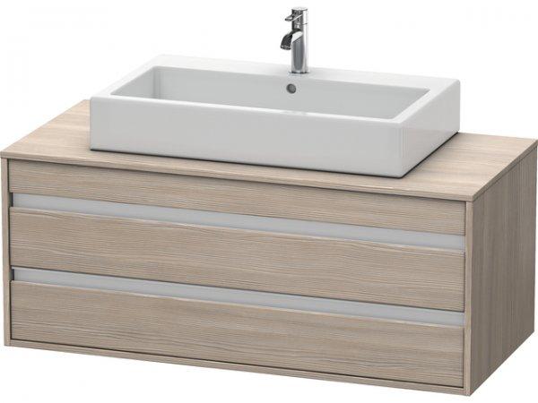 duravit ketho waschtischunterschrank wandh ngend 6656 f r aufsatzbecken mittig. Black Bedroom Furniture Sets. Home Design Ideas