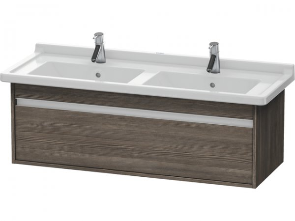 Duravit Ketho vanity unit wall hung 6666, 1 drawer, 1200mm, for Starck 3
