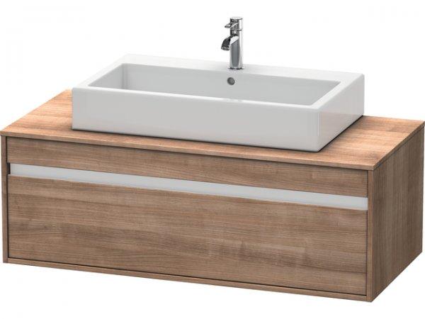 duravit ketho waschtischunterschrank wandh ngend 6696 f r 1 aufsatzbecken mittig. Black Bedroom Furniture Sets. Home Design Ideas