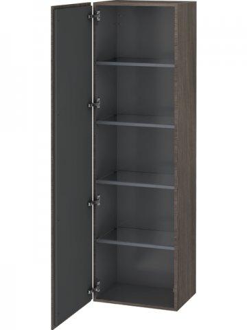 Bevorzugt Duravit L-Cube Hochschrank, Breite 500mm, Tiefe 363mm, 1 Tür,AnschlagL UV97