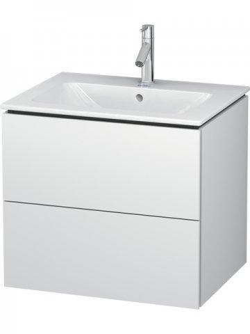 duravit l cube waschtischunterbau wandh ngend 2 schubk st f r 233663. Black Bedroom Furniture Sets. Home Design Ideas