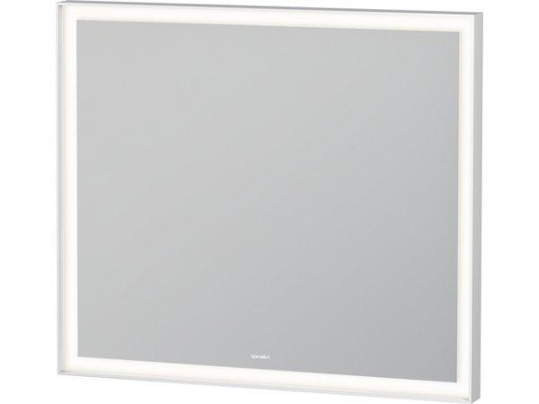 Duravit l cubespiegelmit beleuchtung breite 800mm tiefe for Smart breite mit spiegel