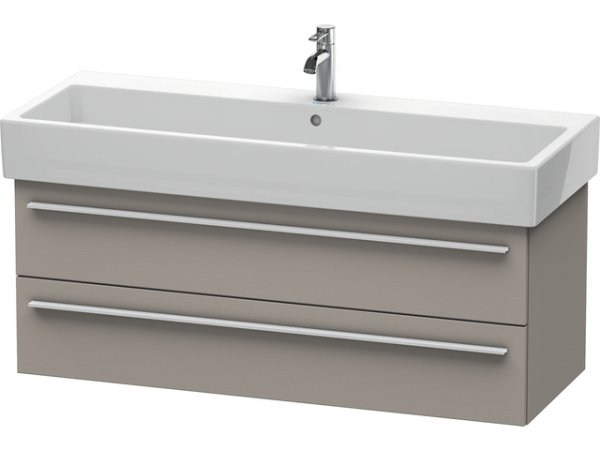 Duravit X-Large Vanity unit wall-mounted 6347, 2 drawers, 1150mm for Vero