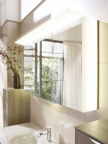 burgbad cala neu spiegelschrank mit beleuchtung rechts breite 1226mm. Black Bedroom Furniture Sets. Home Design Ideas