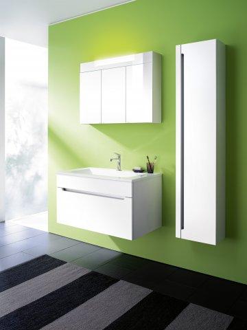 burgbad chiaro spiegelschrank breite 900 mm mit 3 t ren. Black Bedroom Furniture Sets. Home Design Ideas