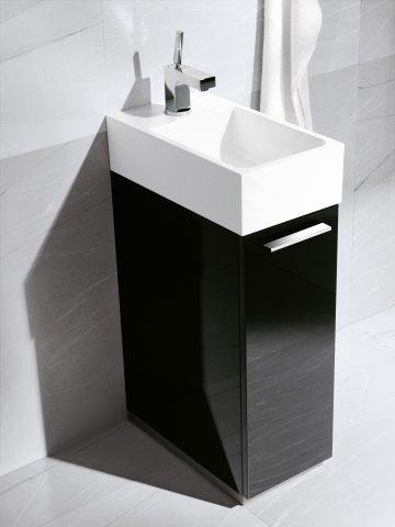 burgbad crono g ste bad mineralguss waschtisch t ranschlag rechts. Black Bedroom Furniture Sets. Home Design Ideas
