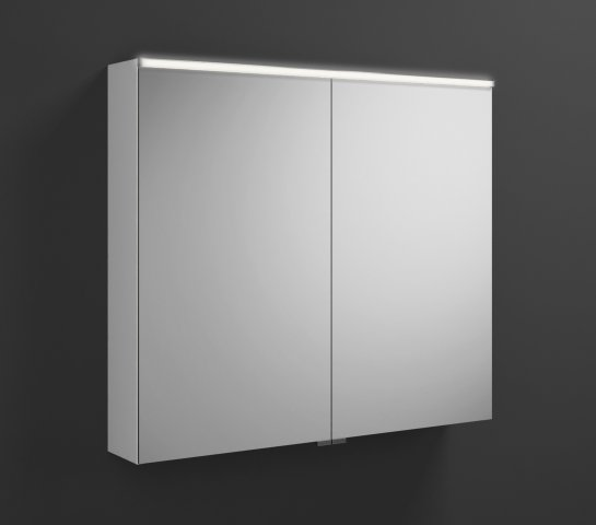 burgbad eqio spiegelschrank mit horizontaler led beleuchtung 900mm. Black Bedroom Furniture Sets. Home Design Ideas