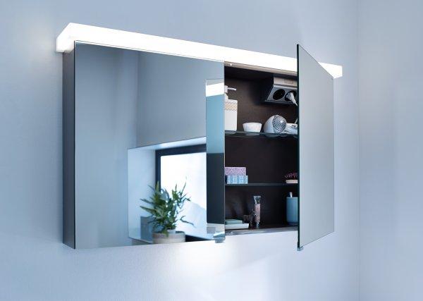 burgbad essento spiegelschrank mit led beleuchtung breite 940 mm. Black Bedroom Furniture Sets. Home Design Ideas