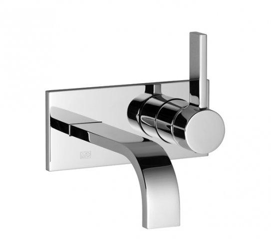 Dornbracht Mem Dusche : Dornbracht MEM Einhand Waschtisch Wandbatterie mit Abdeckplatte
