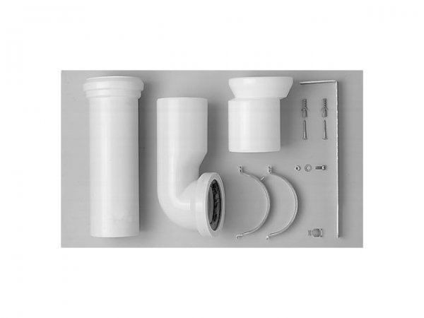 Duravit Vario connection set for WC with Vario outlet, including excenter