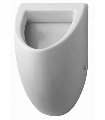 duravit urinal fizz zulauf von hinten absaugend ohne deckel weiss. Black Bedroom Furniture Sets. Home Design Ideas
