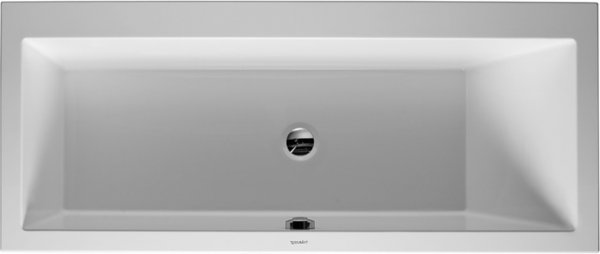 Duravit bathtub Vero 170x75cm, inclined back right, 700134, built-in version