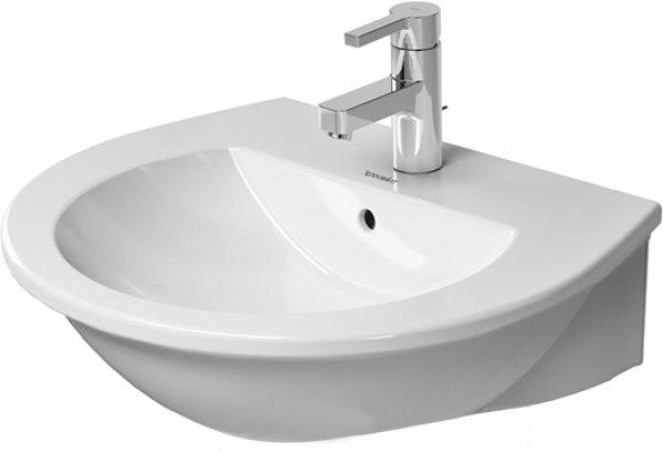 duravit darling new waschtisch 262155 mit berlauf 3 hahnl cher. Black Bedroom Furniture Sets. Home Design Ideas