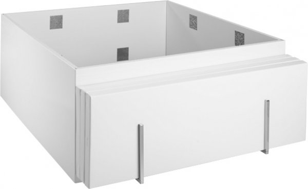 Duravit holder for bathtub support for Blue Moon bathtubs, right
