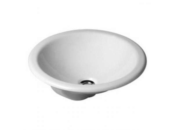 Duravit built-in washbasin Architec 47cm, installation from above, with overflow