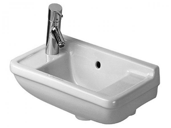 duravit handwaschbecken starck 3 50cm hahnloch vorgestochen. Black Bedroom Furniture Sets. Home Design Ideas